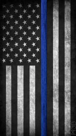 USA Thin Blue Line Flag
