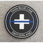 Thin Blue Line Switzerland badge rond
