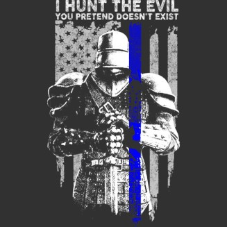 I hunt the devil you pretend does'nt exist
